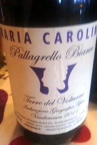 Alepa Maria Carolina Pallagrello Bianco 2012