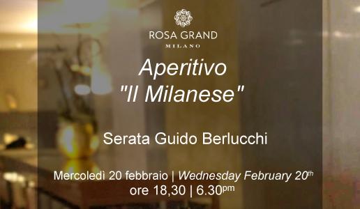 Aperitivo Rosa Grand 20 febbraio