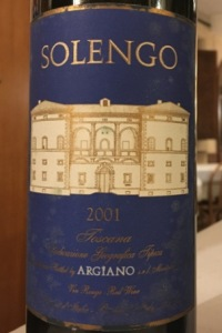 Argiano Rosso Toscano Solengo 2001