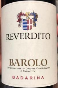 Michele Reverdito Barolo Badarina 2015