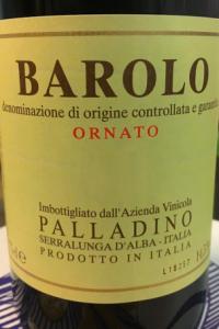 Barolo Ornato Palladino 2015