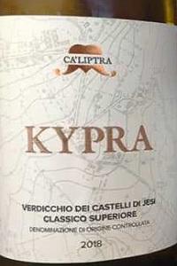Ca' Liptra Verdicchio dei Castelli di Jesi Classico Superiore Kypra 2018