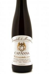 Capanna Moscadello di Montalcino Vendemmi Tardiva vino dolce Toscana