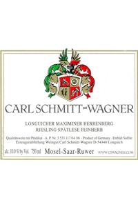 Carl Schmitt-Wagner Longuicher Maximiner Herrenberg Riesling Spaetlese