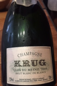Krug Champagne Clos du Mesnil
