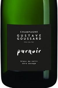 Gustave Goussard Champagne Purnoir Blanc de Noirs Zéro Dosage nv