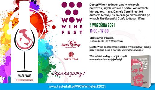 DoctorWine warsaw 2021