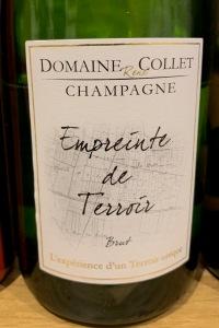 Domaine Collet champagne Empreinte de Terroir Brut