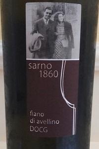 Sarno 1860 Fiano di Avellino