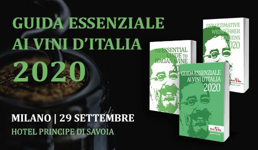 Presentazione Guida Essenziale ai Vini d'Italia 2020 DoctorWine Milano 29 settembre