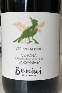 Alessandro Benini Garganega Verona Vespro Albino 2018
