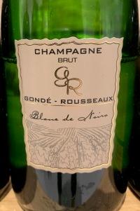 Gondé-Rousseaux champagne Blanc de Noirs