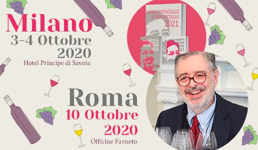 DoctorWine: Presentazione Guida Essenziale ai Vini d'Italia 2021 - Milano
