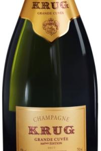 krug champagne grand cuvee 166eme edition etichetta