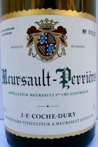 Meursault Perrières 1er Cru 2005 Coche Dury