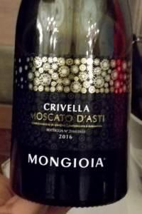 Crivella Moscato d'Asti 2016 Mongioia