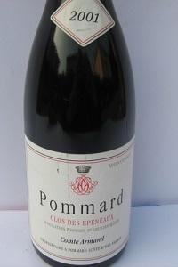 Pommard  1er Cru Clos des Epeneaux 2001 Comte Armand
