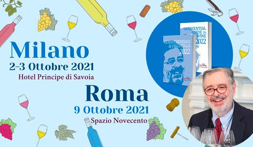Presentazione Guida Essenziale ai Vini d'Italia 2022