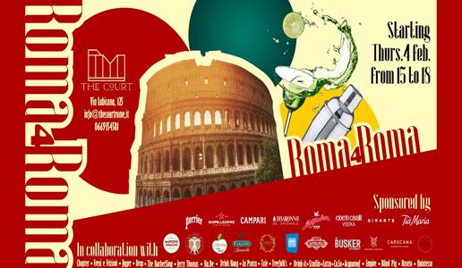 Roma4Roma l'iniziativa che unisce i bartender romani