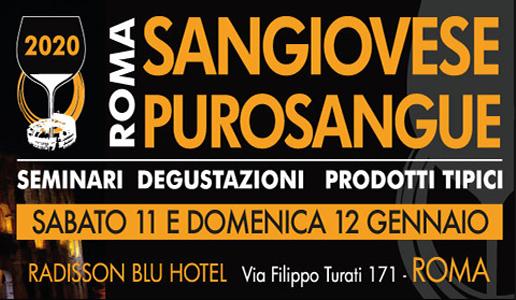 Sangiovese Purosangue roma gennaio 2020