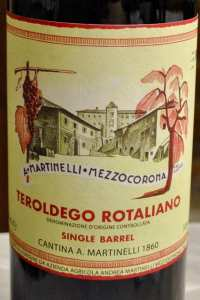 Cantina Martinelli Teroldego Rotaliano Single Barrel 2016