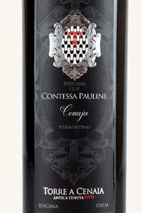 Torre a Cenaia Toscana Vermentino Contessa Pauline 2019