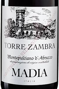 Torre Zambra Montepulciano d'Abruzzo Madia 2018