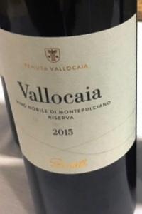Bindella nobile di montepulciano vallocaia riserva 2015