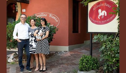 Al Cavallino Bianco Ristorante Spigaroli Polesine Parmense famiglia
