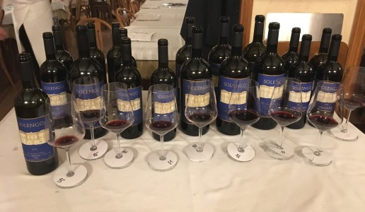 Argiano verticale di Solengo Rosso Toscano
