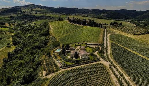 Borgo del Cabreo panorama
