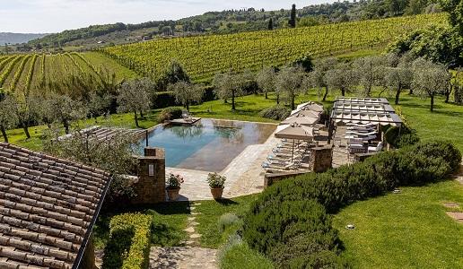 Borgo Canalicchio di Sopra Wine Relais panorama