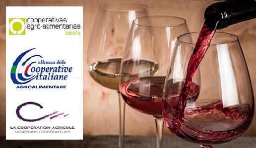 Le cooperative vinicole francesi, italiane e spagnole, che rappresentano oltre il 50% della produzione europea, hanno fatto il punto sul futuro del settore nell'ambito della piattaforma Wine Institute del Farm Europe e chiedono che l'Europa prolunghi le mi