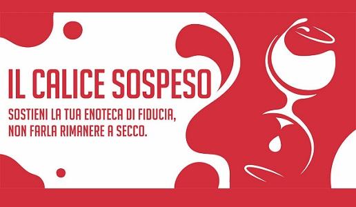 Calice sospeso Iniziativa Puntarella Rossa Wine Club Roma