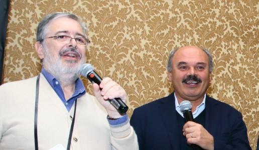 Daniele Cernilli e Oscar Farinetti, Eataly, Borgogno