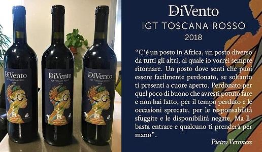 DiVento Rosso 2018 Toscana Igt Donne della Vite