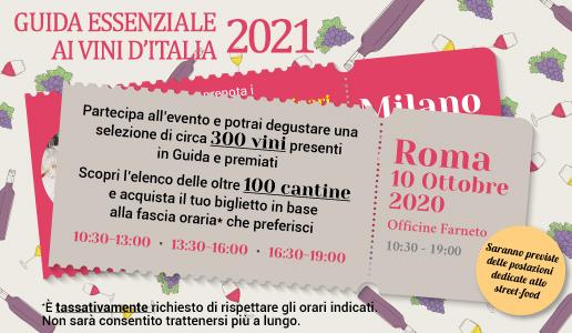 Presentazione Roma Guida Essenziale ai Vini d'Italia 2021 DoctorWIne