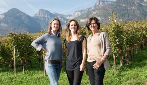 Elena Walch con le figlie
