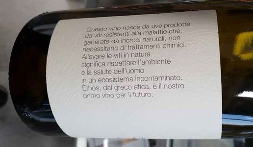 Ethos Forchir Retro-etichetta