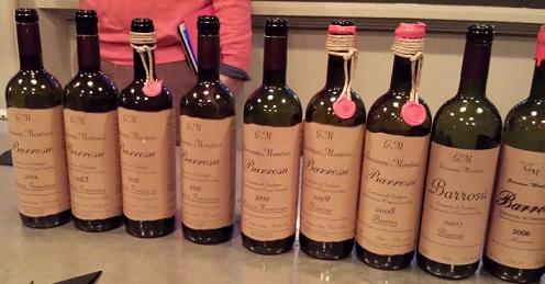 Finché fa vini così, va bene anche Barrosu