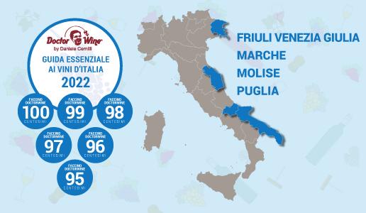 Faccini 2022 - Friuli Venezia Giulia Marche Molise Puglia