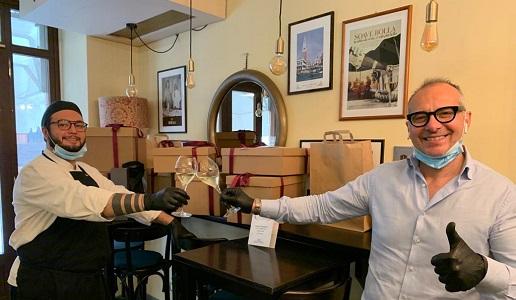 Giampaolo Spinelli Caffè Dante Verona