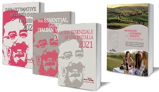 Guida essenziale ai vini d'Italia 2021 e Mangiare e dormire tra i vigneti by DoctorWine