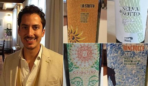 Riccardo Baldi La Staffa Marche con i suoi vini