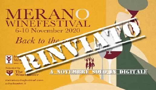 Merano Wine Festivale 2020 reinviato