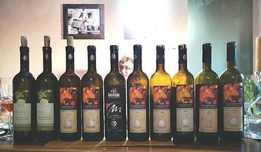 Cesare Mariotti Verticale bianchello del Metauro Piandeifiori bottiglie
