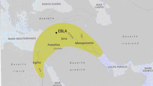 mezzaluna fertile Ebla L'Albero della Vita