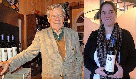 Nicolo e Priscilla Incisa della Rocchetta Tenuta San Guido Sassicaia Editoriale Daniele Cernilli firmato Doctorwine