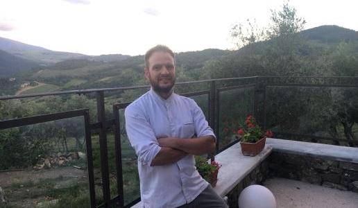 Podere Belvedere Tuscany Edoardo Tilli chef