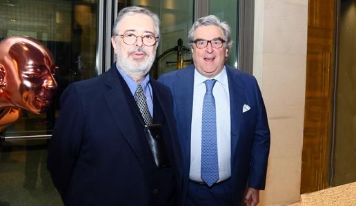 Pio Boffa e Daniele Cernilli